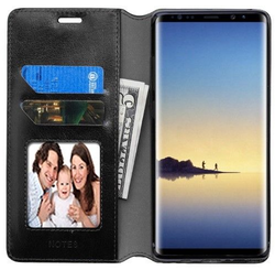 Samsung GALAXY Note 8 Leather Folio Flip Wallet Case