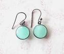 Silver Quartz Earrings