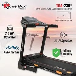 Powermax TDA-230 Motorized Treadmill with Auto Lubrication