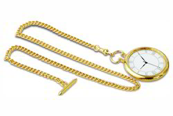 Gold Metal Pocket Watch