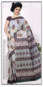 Printed Daily Wear Pure Cotton Sarees
