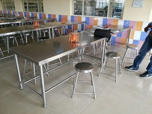 Stainless Steel Table Stainless Steel Tables Manufacturer From Mumbai - Table and chair design for restaurant