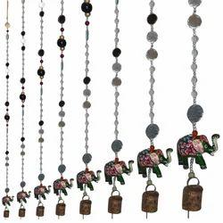 Meena Elephant Bell Hanging