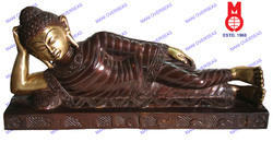 Lord Buddha Lying On Cot Statue