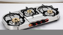 SS Three Burner Gas Stove