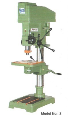 different types of drilling machine