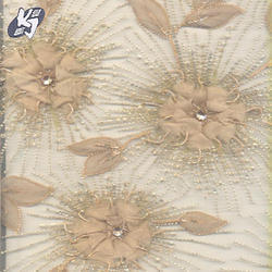 Designer Handmade Embroidery Fabric