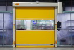 Rapid Speed Rolling Shutter Doors. Ask For Price & Rapid Doors - Crash Proof Rapid Shutter Door Manufacturer from Gurgaon