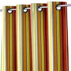 Yarn Dyed Stripe Cotton Curtain