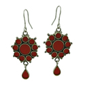 Terracotta 925 Sterling Silver Handmade Jewelry set