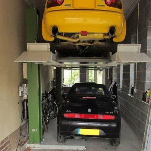 Single Post Car Storage Lift