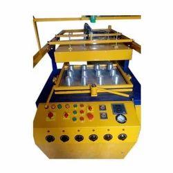 Semi Automatic Plastic Glass Making Machine
