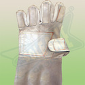 Chrome Leather Hand Gloves