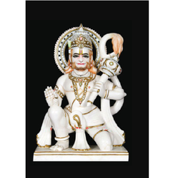Hanuman Ji Marble Sculpture