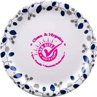 Printed Paper Plates U/v Treated sterlised  sc 1 st  IndiaMART : personalised paper plates - pezcame.com