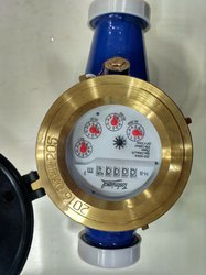 Toshniwal 32mm Brass Multi Jet Class B Screwed Water Meter