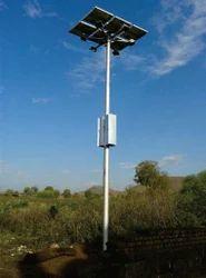 Solar High Mast Light With 3 Bulb