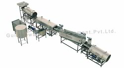 Fully Automatic Pellet Frying Line with Diesel Heat Exchange
