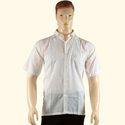 Chikan Hand Embroidered Men's Shirt