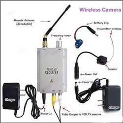 Spy Hidden Camera With Receiver