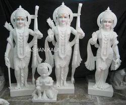 White Marble Ram Darbar Idol