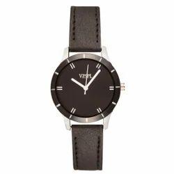 Vespl High Quality Analogue Black Dial Women's watch