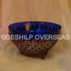 Crackle Glass Bowls