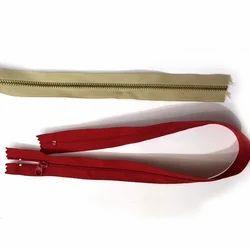 Nickle Color Anodized Aluminum Zipper
