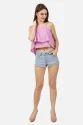 Women's Pink Crop Top
