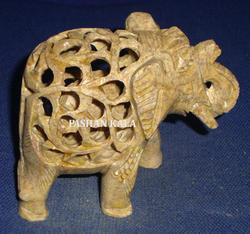Undercut Elephant Sculpture