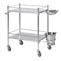 Hospital Stainless Steel Dressing Trolley