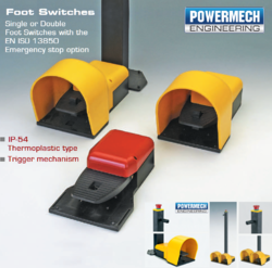 Single Foot Switch and Double Foot Switch