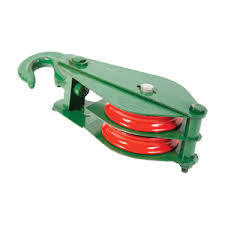Double Type Wire Rope Pulley