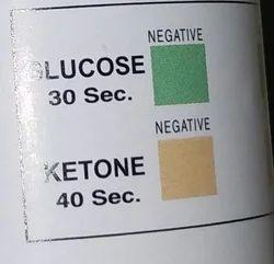 Urine Strips 2 Para Glucose Ketone