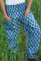 Printed Plazzo Trousers