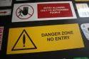 WARNING SIGNS IN ALUMINIUM