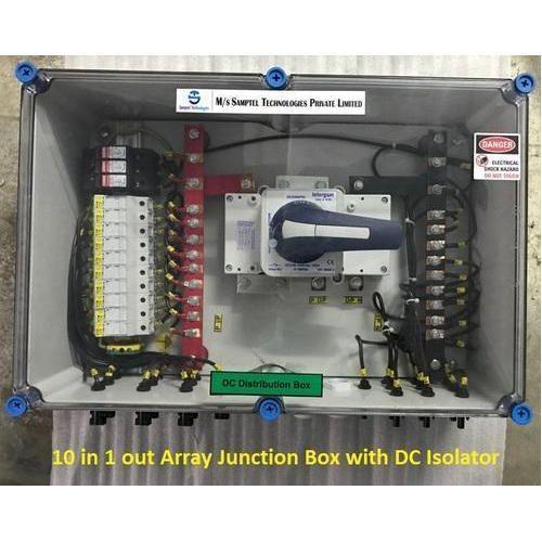Solar Dc Distribution Box Solar Dc Combiner Box 10 In 1