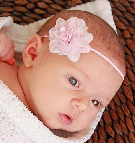 44327ee2375d Headband - Small Flower Headband Baby Pink Hair Bands Manufacturer ...