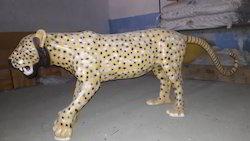 FRP Leopard Statue