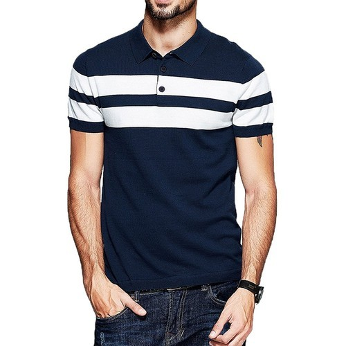 Men Striped T-shirts