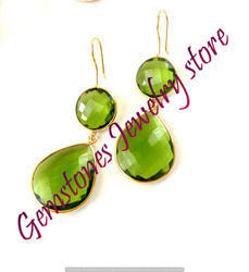 Peridot Gemstone Earring