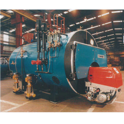 Oil and Gas Fired Boilers - Oil And Gas Fired Smoke Tube Boiler ...