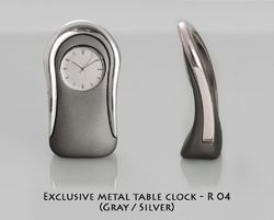 Metal Table Clock