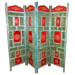 Wooden Painted Partition