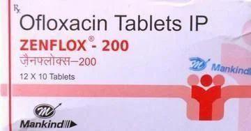 Zenflox - Ofloxacin Tablet