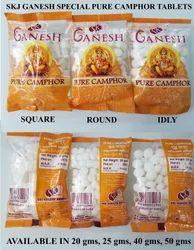 Skj Ganesh Special Pure Camphor Tablets