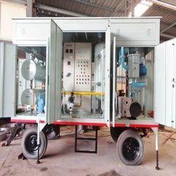 High Vacuum Transformer Oil Filter Plant
