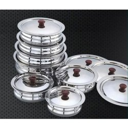 Stainless Steel Urli Set
