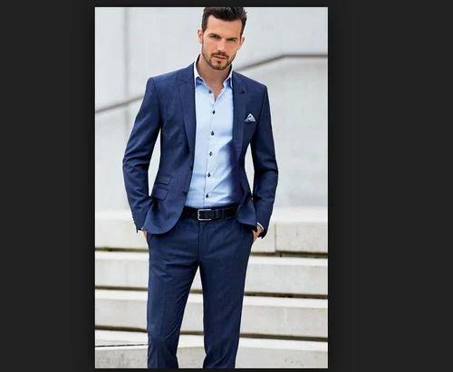 2-Piece Suit Medium Mens Casual Suit