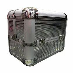 Rectangular Aluminium Cosmetic Case